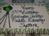 Lexington Public Library System's 100th Birthday Celebration in 2012