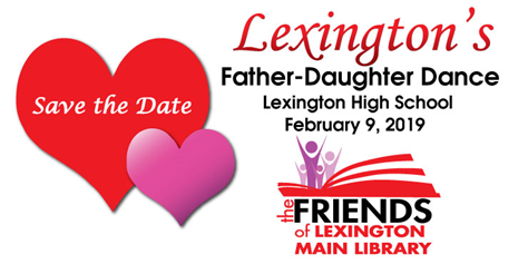 Save the Date Father Daughter Dance